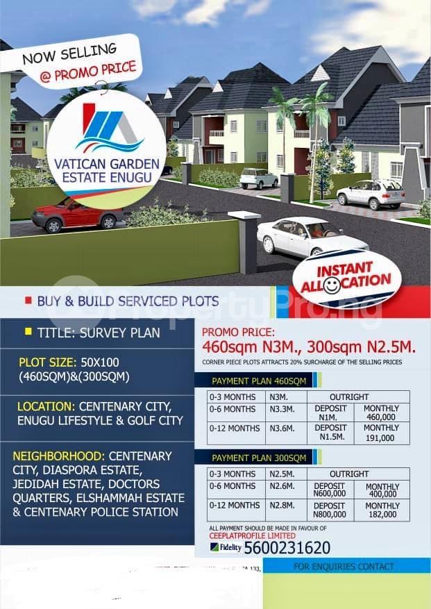 Residential Land Land for sale Enugu Enugu - 0