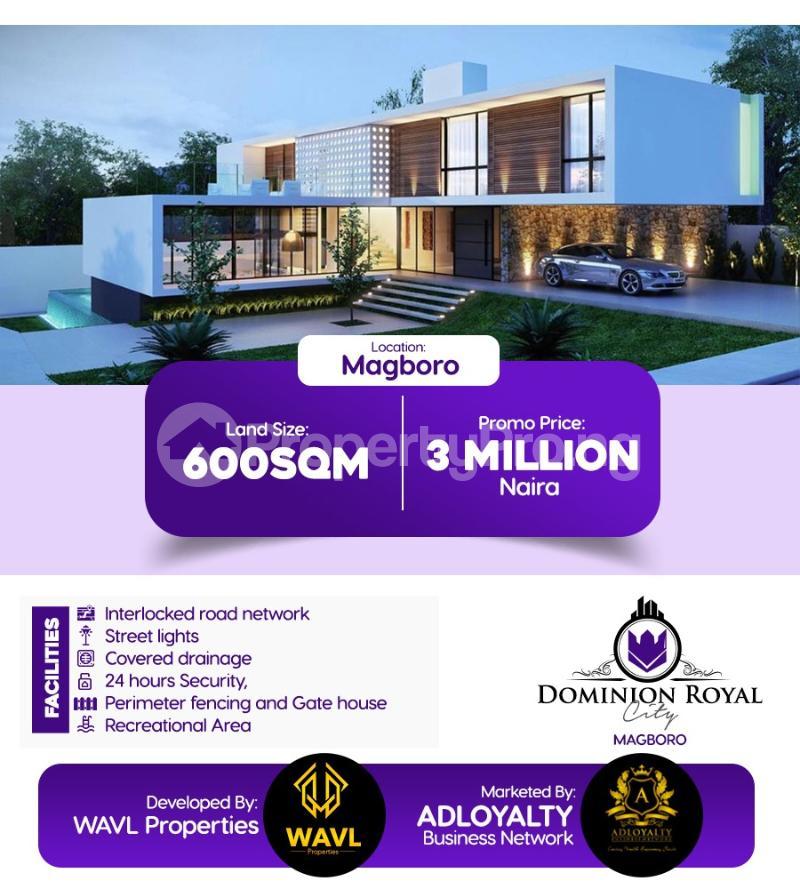 Residential Land Land for sale Olowofela,Magboro Arepo Arepo Ogun - 0