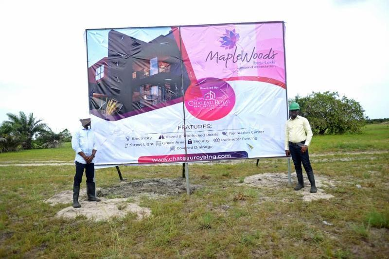 Land for sale After the La Campaign Tropicana Beach Resort,Igbogun Town, Ibeju-lekki, Lagos. LaCampaigne Tropicana Ibeju-Lekki Lagos - 14