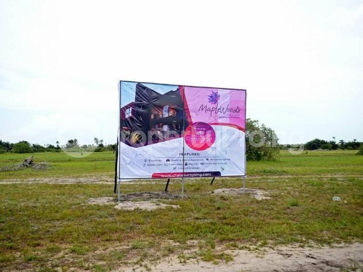 Land for sale After the La Campaign Tropicana Beach Resort,Igbogun Town, Ibeju-lekki, Lagos. LaCampaigne Tropicana Ibeju-Lekki Lagos - 4