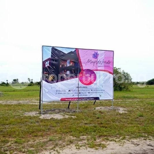 Land for sale After the La Campaign Tropicana Beach Resort,Igbogun Town, Ibeju-lekki, Lagos. LaCampaigne Tropicana Ibeju-Lekki Lagos - 5