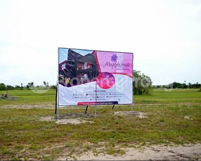 Land for sale After the La Campaign Tropicana Beach Resort,Igbogun Town, Ibeju-lekki, Lagos. LaCampaigne Tropicana Ibeju-Lekki Lagos - 9