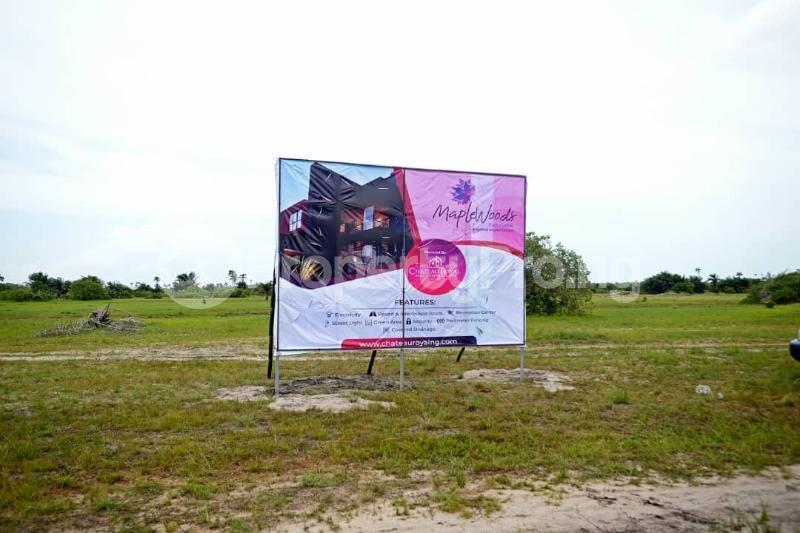 Land for sale After the La Campaign Tropicana Beach Resort,Igbogun Town, Ibeju-lekki, Lagos. LaCampaigne Tropicana Ibeju-Lekki Lagos - 3