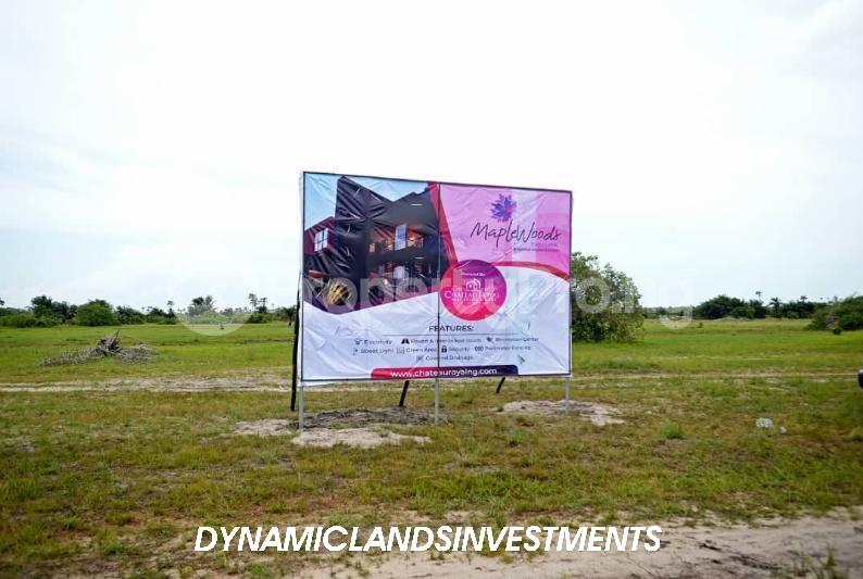 Land for sale After the La Campaign Tropicana Beach Resort,Igbogun Town, Ibeju-lekki, Lagos. LaCampaigne Tropicana Ibeju-Lekki Lagos - 12