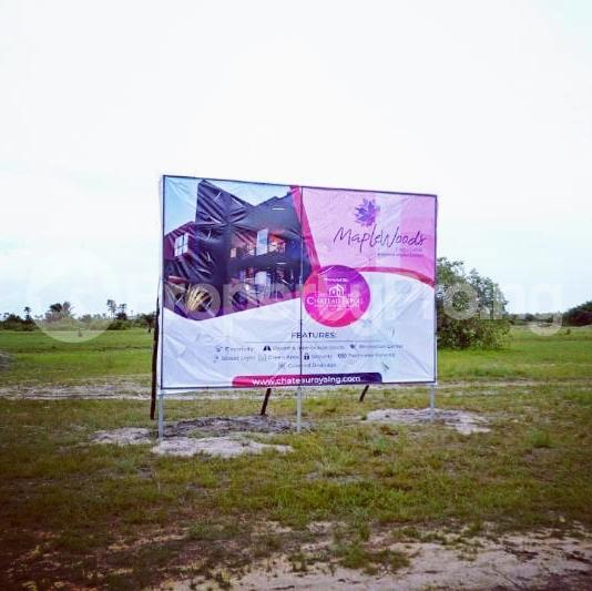 Land for sale After the La Campaign Tropicana Beach Resort,Igbogun Town, Ibeju-lekki, Lagos. LaCampaigne Tropicana Ibeju-Lekki Lagos - 6