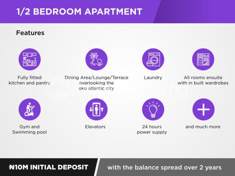 1 bedroom mini flat  Flat / Apartment for sale   ONIKOYI. Banana Island Ikoyi Lagos - 11