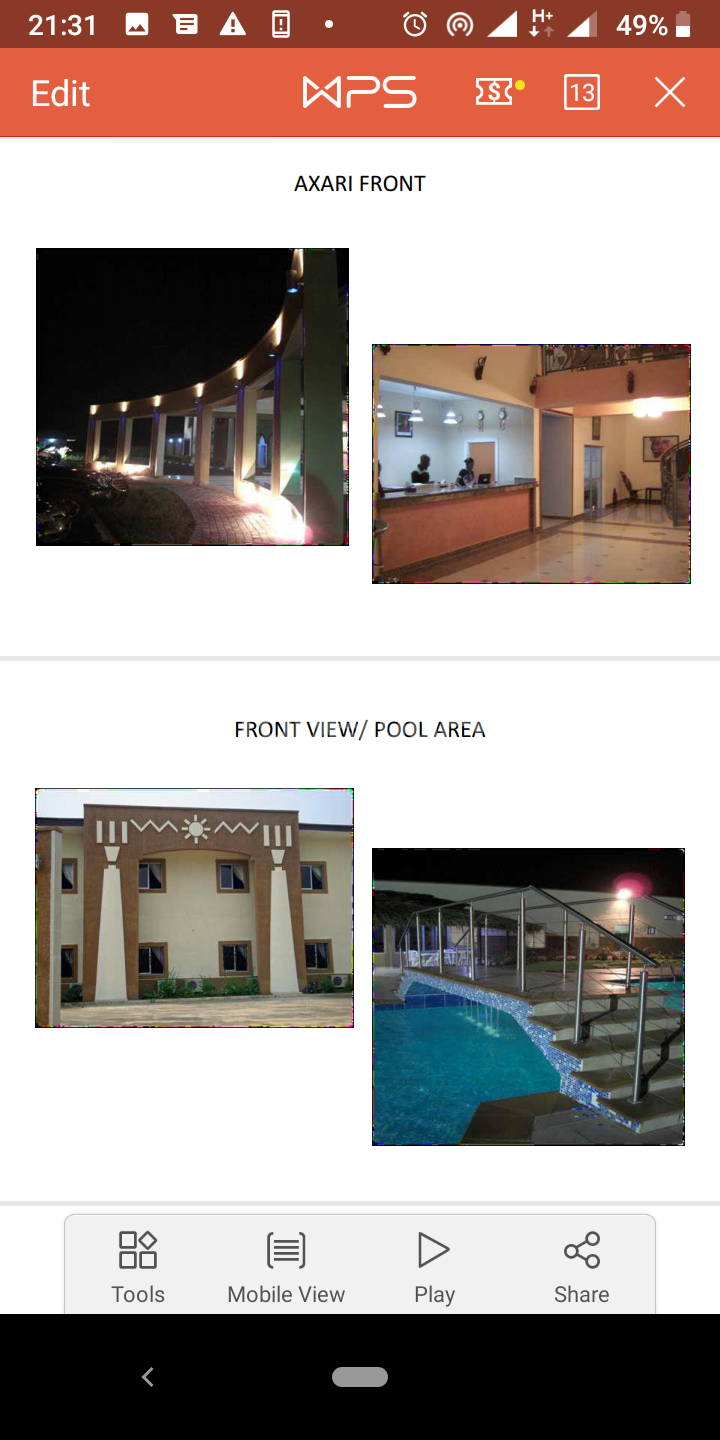 Hotel/Guest House Commercial Property for sale Along Murtala Muhammed highway Calabar Cross River - 1