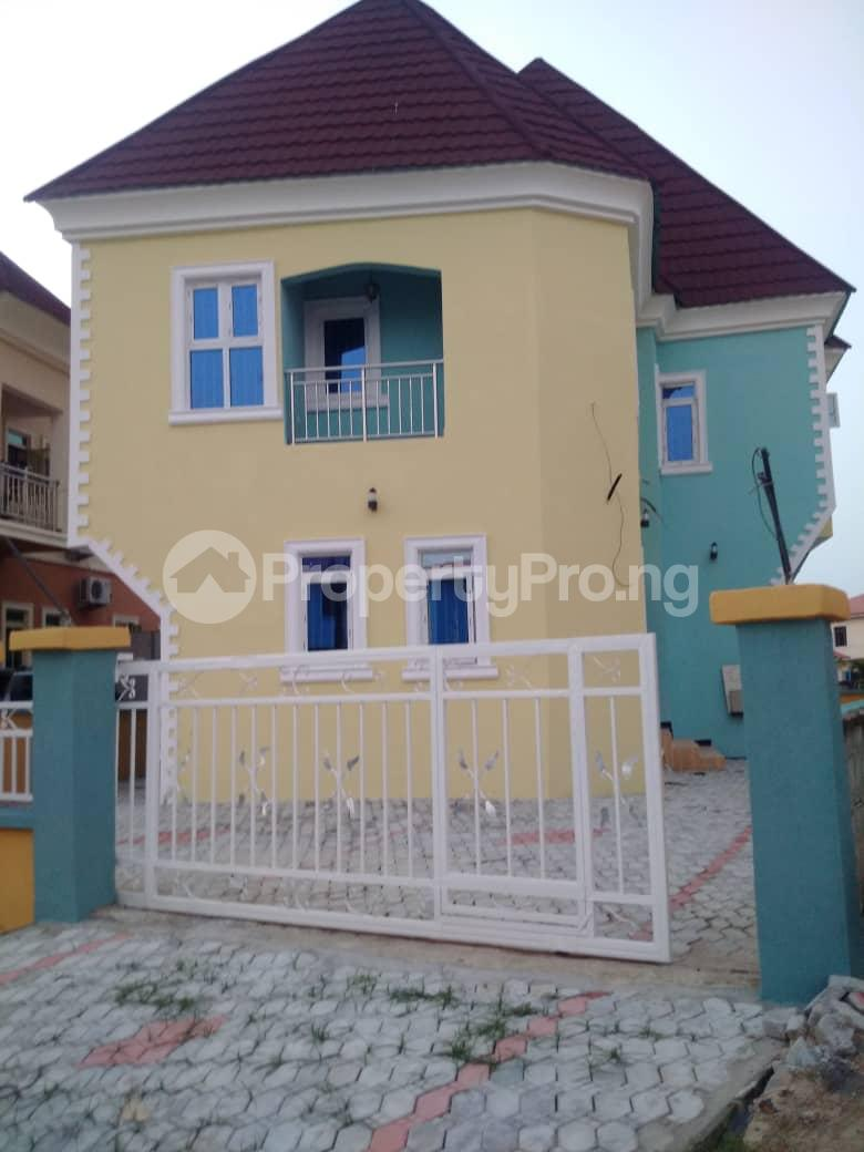 4 bedroom Detached Duplex House for sale Crown estate Sangotedo Ajah Lagos - 0