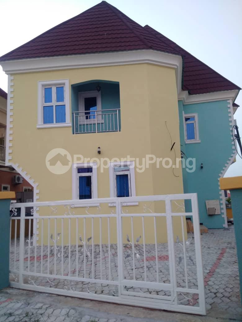 4 bedroom Detached Duplex House for sale Crown estate Sangotedo Ajah Lagos - 4