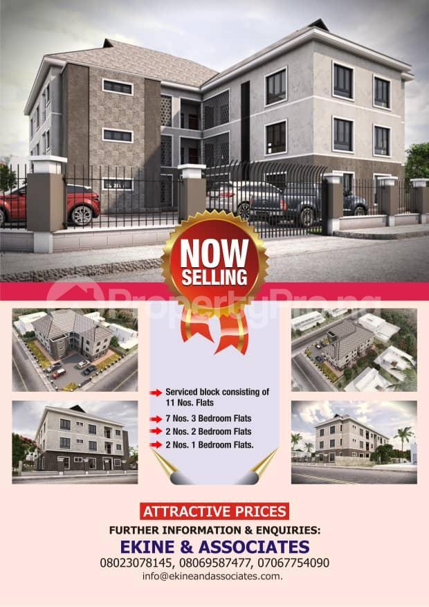 1 bedroom mini flat  Flat / Apartment for sale Oba Amusa street, off Ajiran Road, Agungi. Lekki, Lagos.  Agungi Lekki Lagos - 0