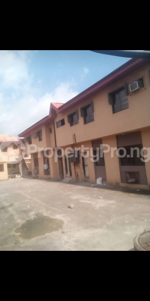3 bedroom Blocks of Flats House for sale Alhaji Agbeke street, Ago palace Okota Lagos - 1