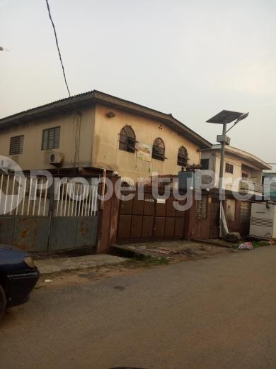 Block of Flat for sale alhaji Azeez street Mafoluku Oshodi Lagos - 4