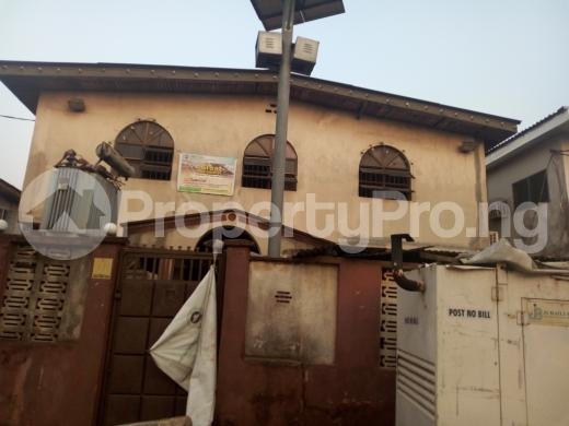 Block of Flat for sale alhaji Azeez street Mafoluku Oshodi Lagos - 1