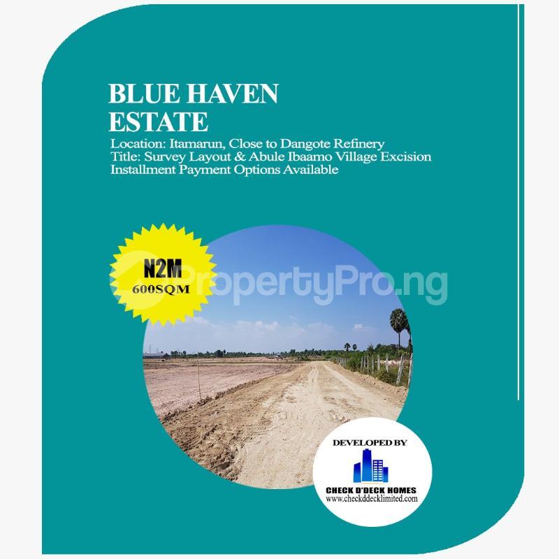 Mixed   Use Land Land for sale Itamarun Town Free Trade Zone Ibeju-Lekki Lagos - 3