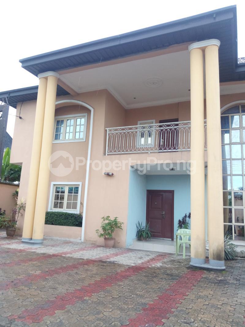 4 bedroom Detached Duplex House for sale Rumuhaolu off Sars rd Eliozu Port Harcourt Rivers - 0
