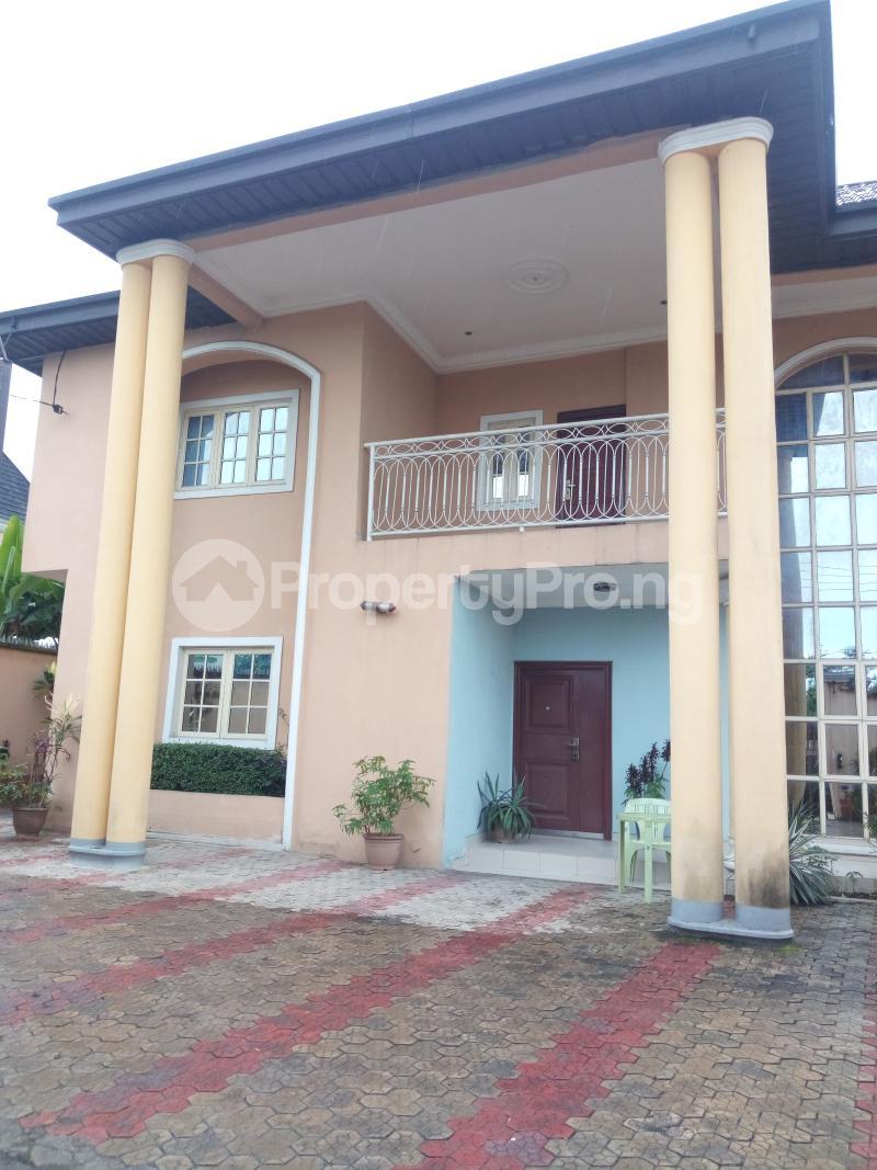 4 bedroom Detached Duplex House for sale Rumuhaolu off Sars rd Eliozu Port Harcourt Rivers - 1