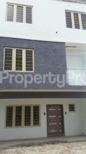 4 bedroom Terraced Duplex House for rent Bethel Estate by Mutual Alpha Court Alaka/Iponri Surulere Lagos - 0