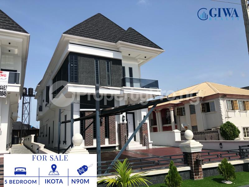 5 bedroom Detached Duplex House for sale Ikota Lekki Lagos - 10