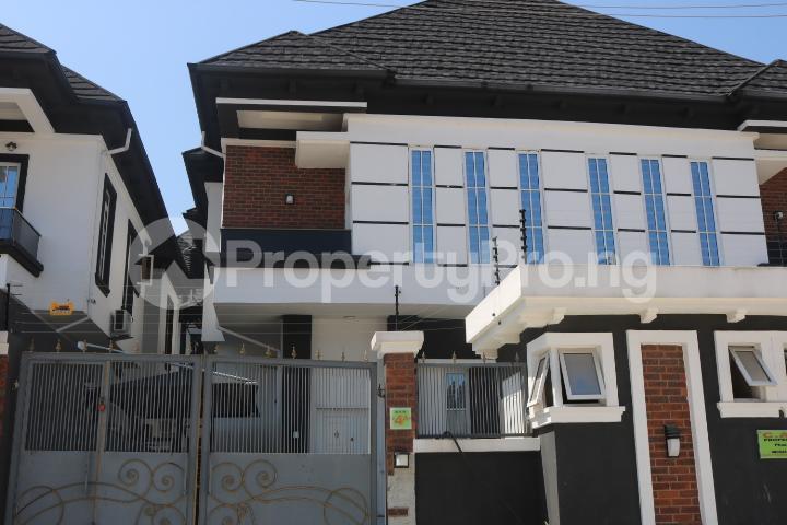 4 bedroom Semi Detached Duplex House for rent Chevy View Estate chevron Lekki Lagos - 1