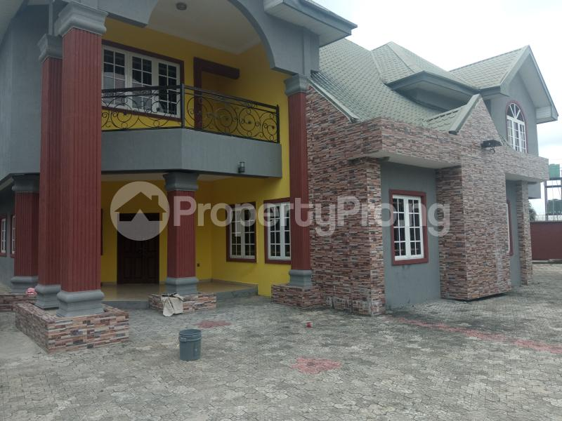 4 bedroom Detached Duplex House for rent RD Road Rumudaraa Shell Location Port Harcourt Rivers - 1