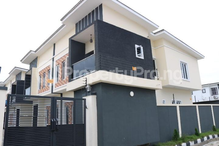 3 bedroom Semi Detached Duplex House for sale Orchid Estate, Lafiaji Lekki Lagos - 1