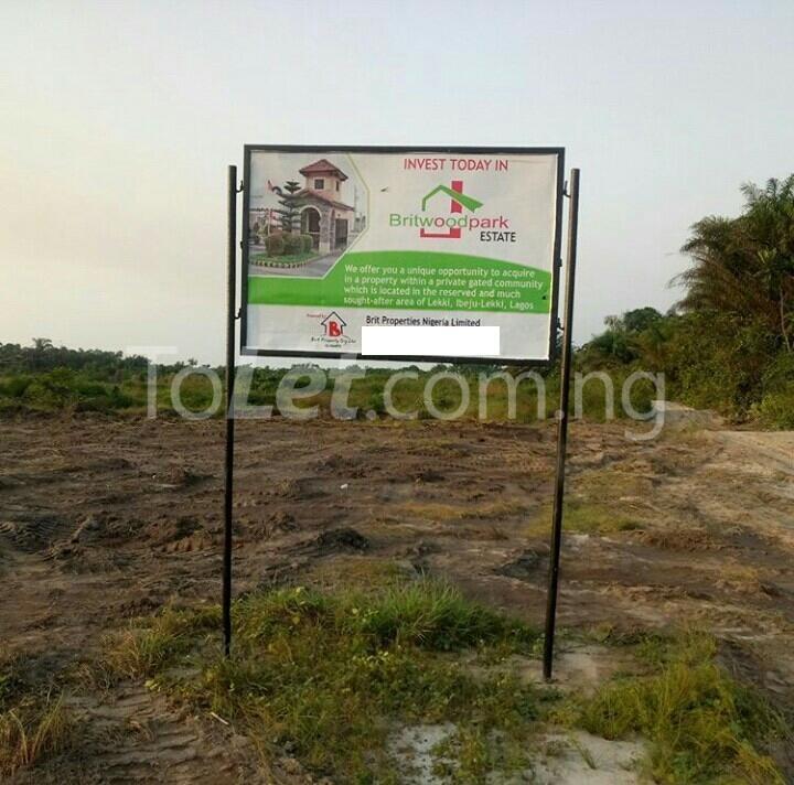 Land for sale - Eleranigbe Ibeju-Lekki Lagos - 0