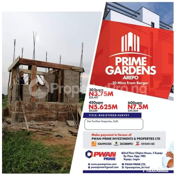 Residential Land Land for sale It shares neighborhood with journalists estate Arepo Arepo Ogun - 3