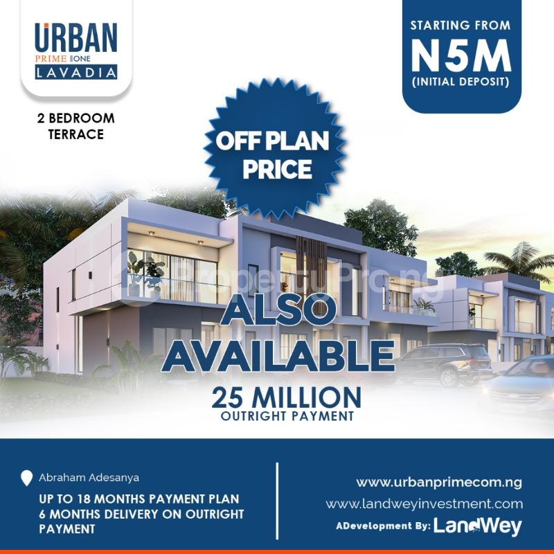 2 bedroom Terraced Duplex House for sale Abraham Adesanya Lekki Lagos - 1