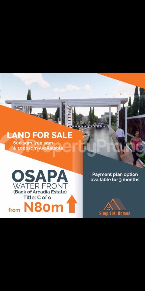 Mixed   Use Land Land for sale Behind Arcadia Estate Osapa London off Lekki Epe Expressway  Osapa london Lekki Lagos - 0