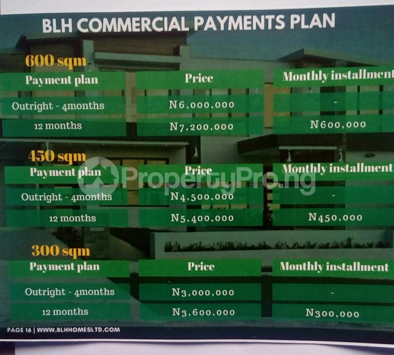 Commercial Land Land for sale Osoroko Free Trade Zone Ibeju-Lekki Lagos - 1