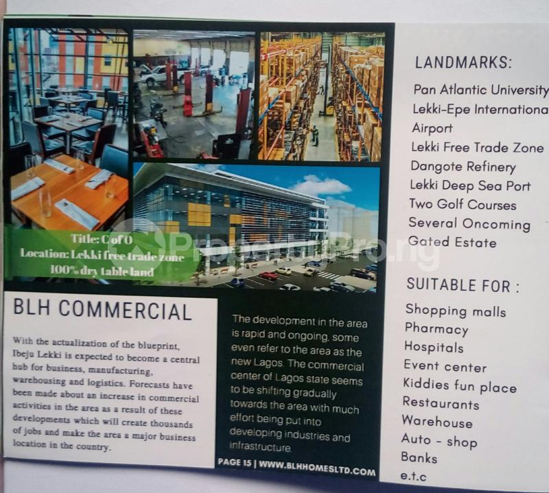 Commercial Land Land for sale Osoroko Free Trade Zone Ibeju-Lekki Lagos - 0