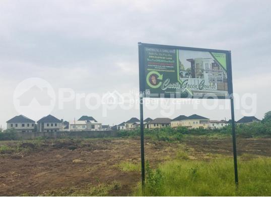 Serviced Residential Land Land for sale Shoprite novare mall, off monastery road. Sangotedo Ajah Lagos - 1