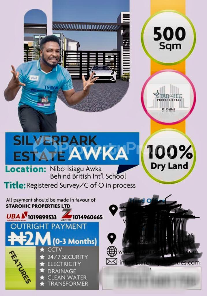 Serviced Residential Land Land for sale Opp Govt house behind British Int School  Awka South Anambra - 0