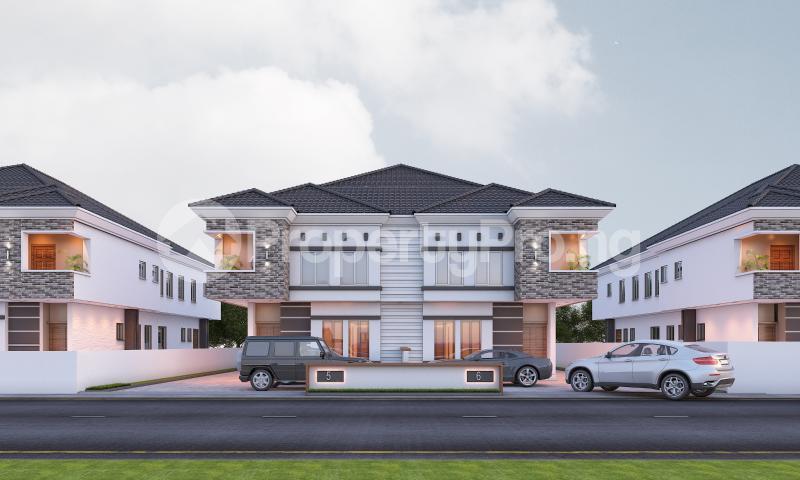 4 bedroom Semi Detached Duplex House for sale In a modern Estate chevron Lekki Lagos - 0
