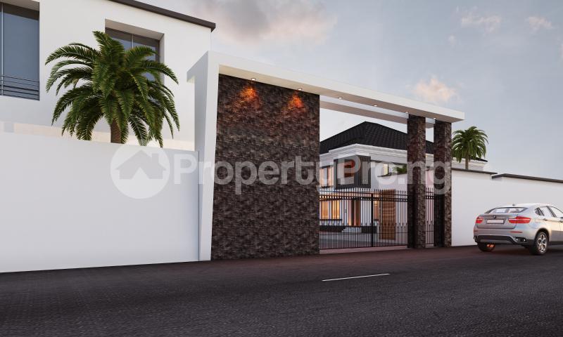 4 bedroom Semi Detached Duplex House for sale In a modern Estate chevron Lekki Lagos - 1
