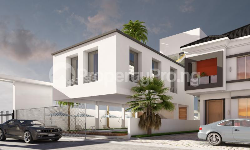 4 bedroom Semi Detached Duplex House for sale In a modern Estate chevron Lekki Lagos - 4