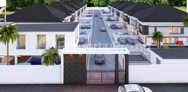 4 bedroom Semi Detached Duplex House for sale In a modern Estate chevron Lekki Lagos - 2