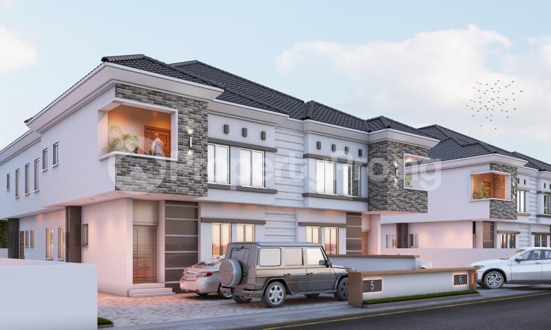 4 bedroom Semi Detached Duplex House for sale In a modern Estate chevron Lekki Lagos - 5