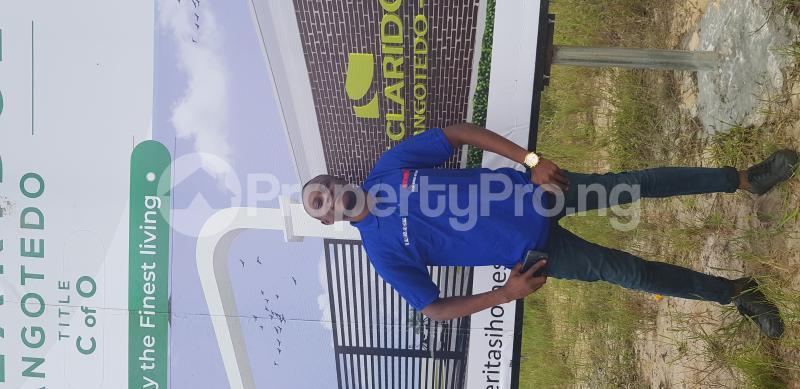 Residential Land Land for rent Behind Novera Mall Monastery road Sangotedo Lagos - 2