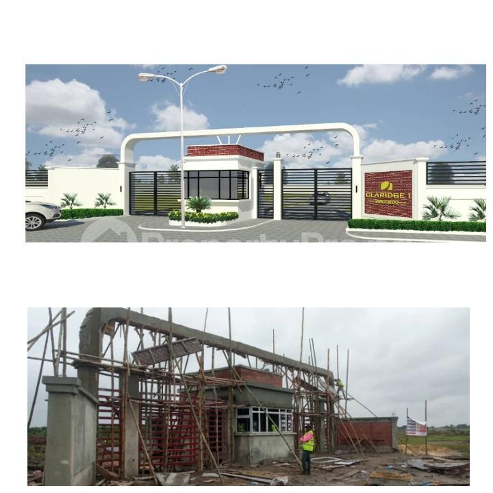Residential Land Land for rent Behind Novera Mall Monastery road Sangotedo Lagos - 1