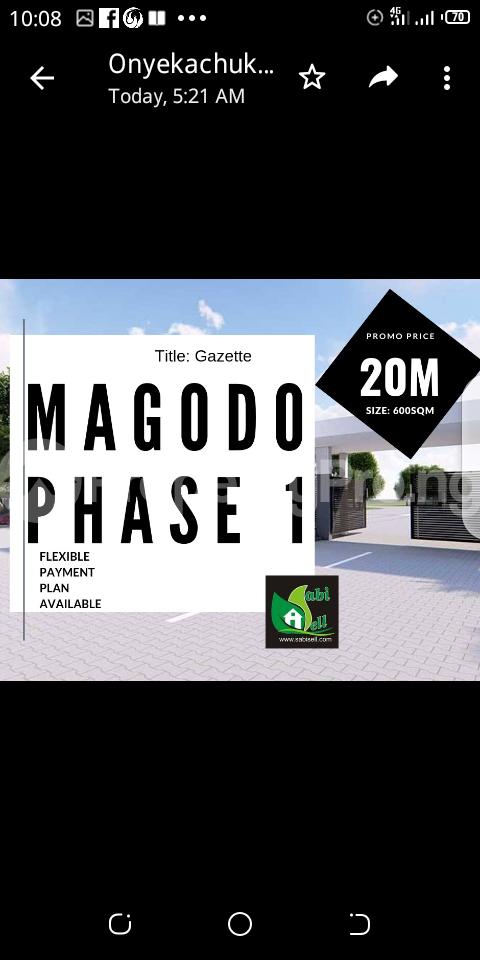 Commercial Land Land for sale Magodo GRA Phase 1 Magodo Kosofe/Ikosi Lagos - 0