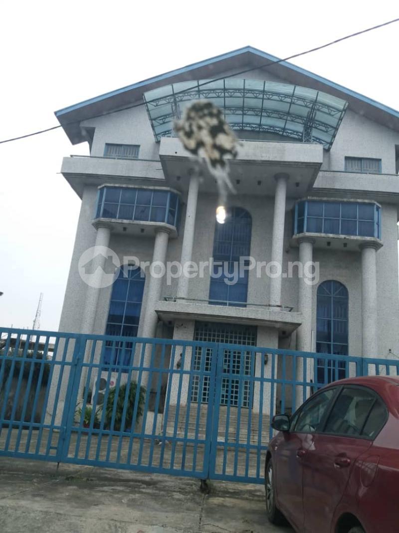 Office Space Commercial Property for sale Opebi Allen way Opebi Ikeja Lagos - 1