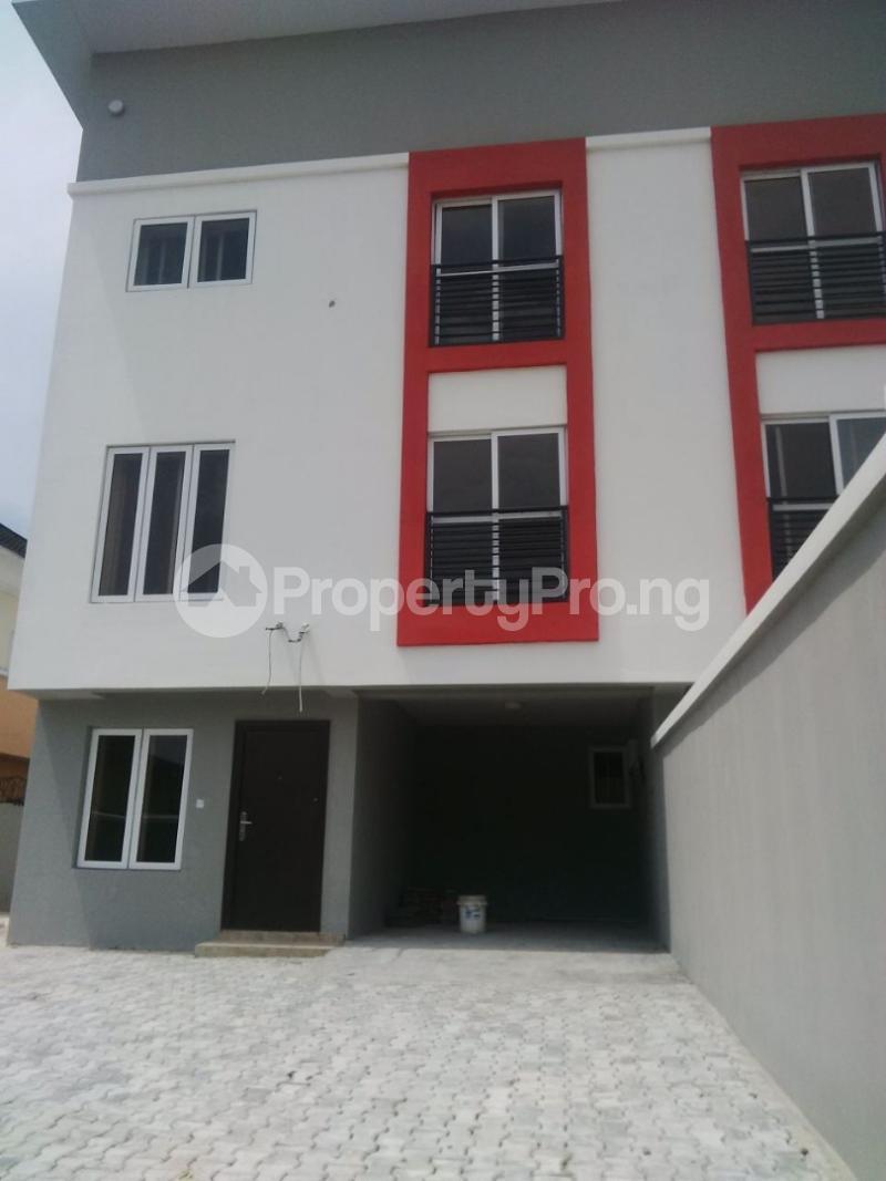 4 bedroom Terraced Duplex House for sale Just before Agungi Osapa london Lekki Lagos - 10