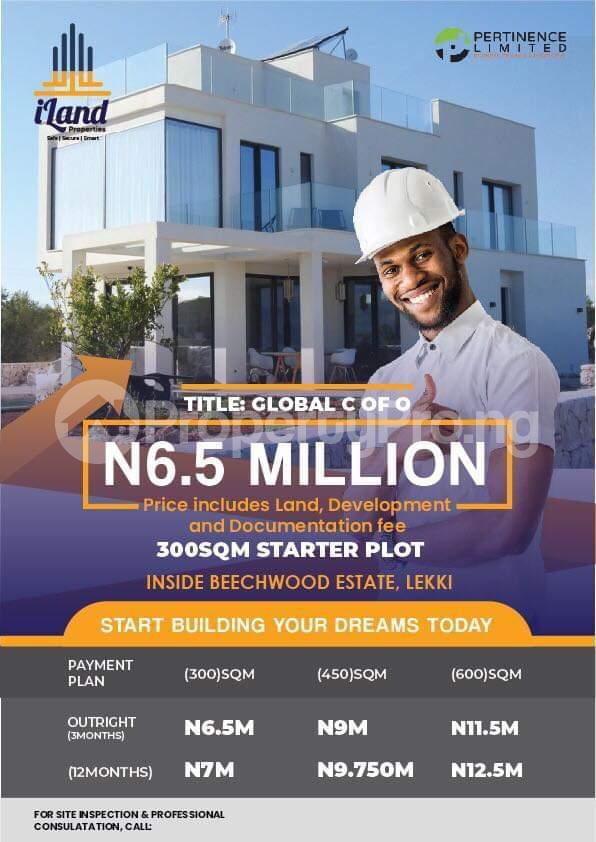 Mixed   Use Land Land for sale Beechwood estate, Shepati Lekki Ikate Lekki Lagos - 2