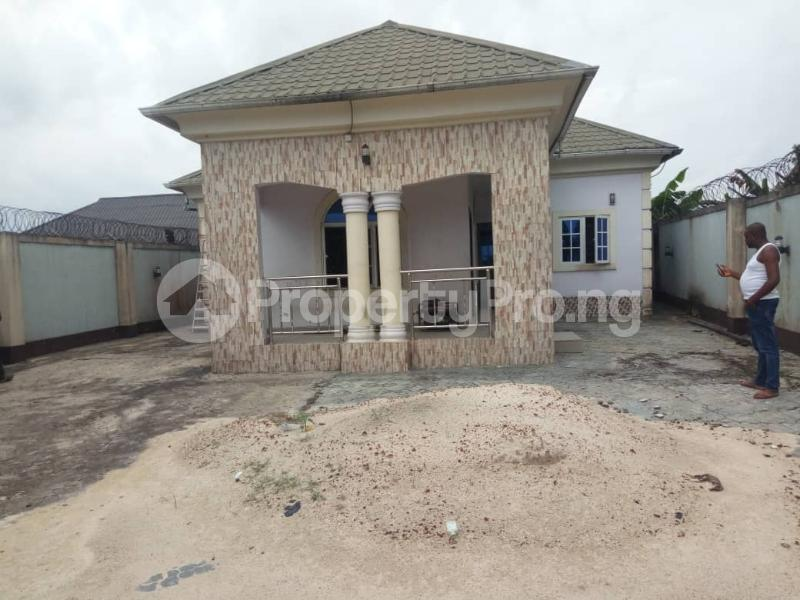 3 bedroom Detached Bungalow House for sale off NTA road Magbuoba Port Harcourt Rivers - 0