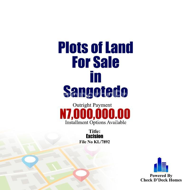 Residential Land Land for sale Behind Shoprite Monastery road Sangotedo Lagos - 1