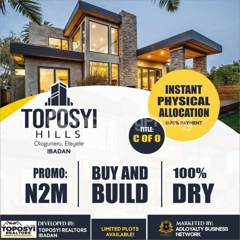 Land for sale Ologunleru eleyele Ibadan Oyo - 0