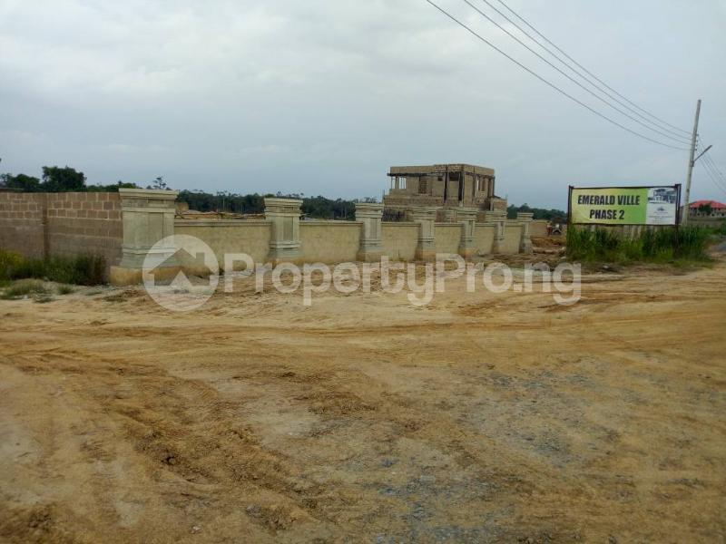 Residential Land Land for sale Assese, before redemption camp Ibafo Obafemi Owode Ogun - 1