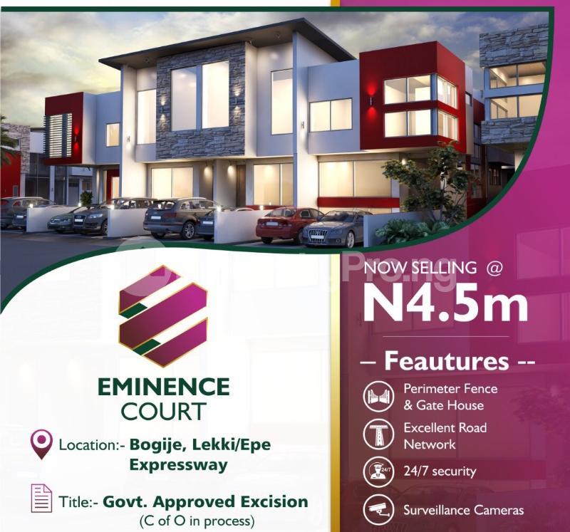 Residential Land Land for sale Bogije  Ibeju-Lekki Lagos - 2
