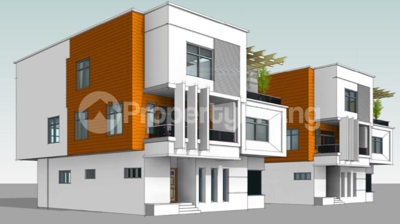 4 bedroom Detached Duplex House for sale Oniru Private Estate ONIRU Victoria Island Lagos - 1